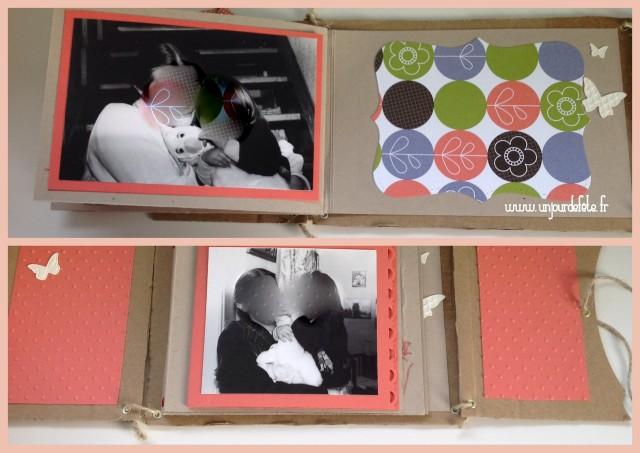 mini album petits bonheurs