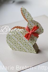 Lapin de Pâques décoration de table