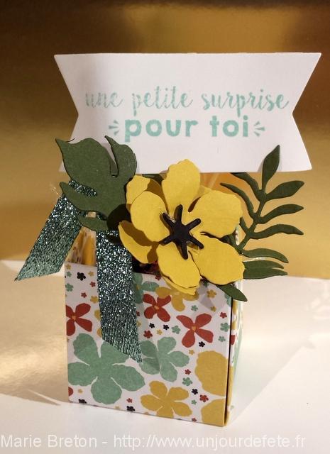 botabical blossom moutarde
