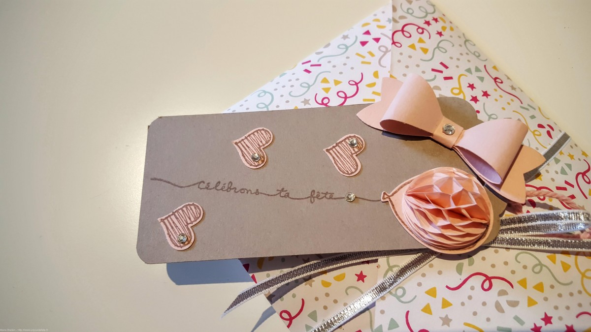 Stampin'Up insta pochette