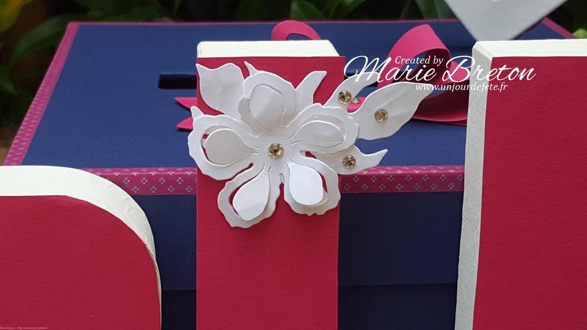 Urne mariage bleu marine et fushia.jpg
