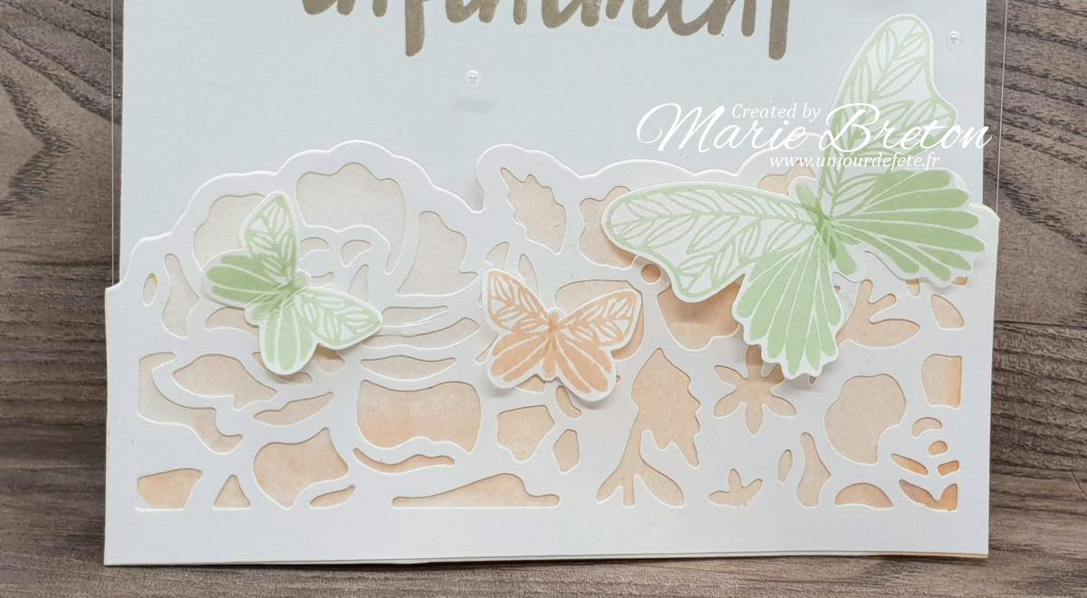 Carte pour dire merci stampin'up