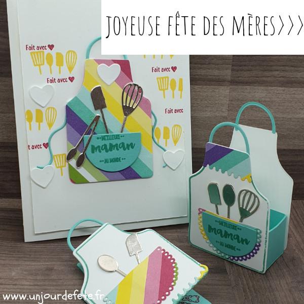 Carte fête des mères stampin'up