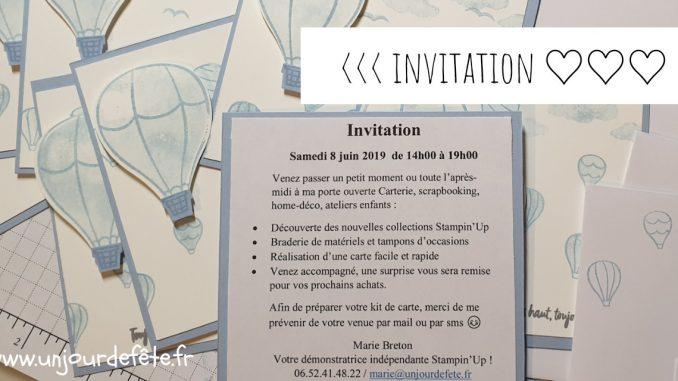 Catalogue stampin'up 2020 lucenay porte ouverte