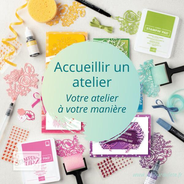 Accueillir un atelier créatif scrapbooking - Rhône - Beaujolais -Lucenay- Villefranche-sur-Saône